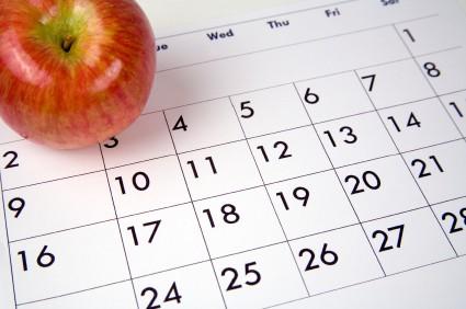 calendario saludable