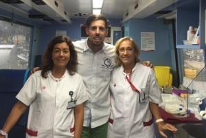 donación de sangre enfermeras